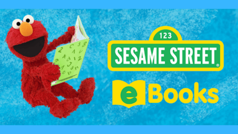 Elmo image - click here to visit Sesame Street eBooks